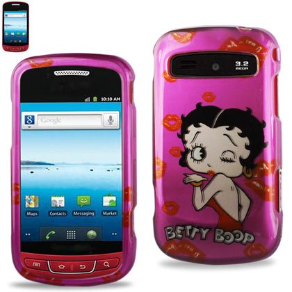 Reiko 2dpc-samr720-b296 2d Coque de protection pour Samsung Admire R720 – Betty Boop/rose vif