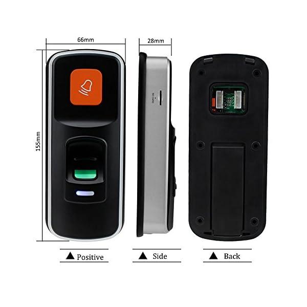 LIBO I90 Mini Controller di Accesso Biometrico per Impronte Digitali RFID Standalone Scheda SD di Supporto Lettore di… 3 spesavip