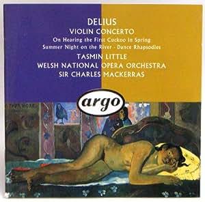 Frederick Delius Violin Concerto et al Tasmin Little (Argo)