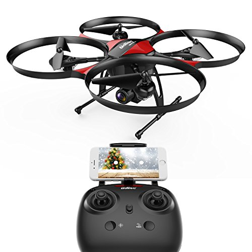 DROCON U818PLUS WIFI FPV Drone With Wide-Angle HD 2MP Camera,15 Min Flight Time, Altitude Hold, Headless Mode, One-Button Take-off And Landing, TF Card 4GB Included, Quadcopter Designed For Beginners 4 Gb Button