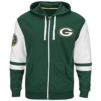 Amazon.com: NFL Team Big & Tall Full Zip Fleece Hoodie