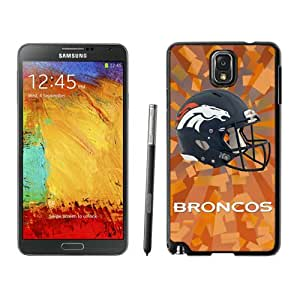 Fashionable Samsung Galaxy Note 3 Case ,Unique And Lovely Designed Case With Denver Broncos 07 Black Samsung Galaxy Note 3 Cover Phone Case