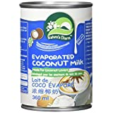 Nature's Charm Evaporated Coconut Milk, 360 Milliliter