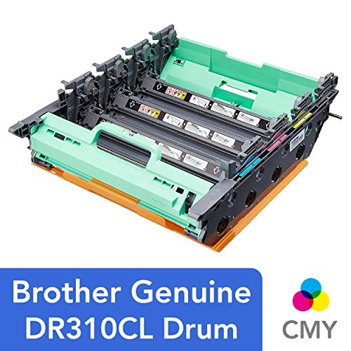 Brother Genuine Drum Unit, DR310CL, Seamless Integration, Yields Up to 25,000 Pages, -