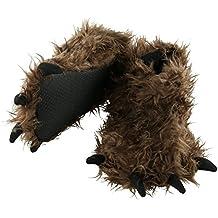 LazyOne Animal Paw Slippers - Wolf Bear Dinosaur