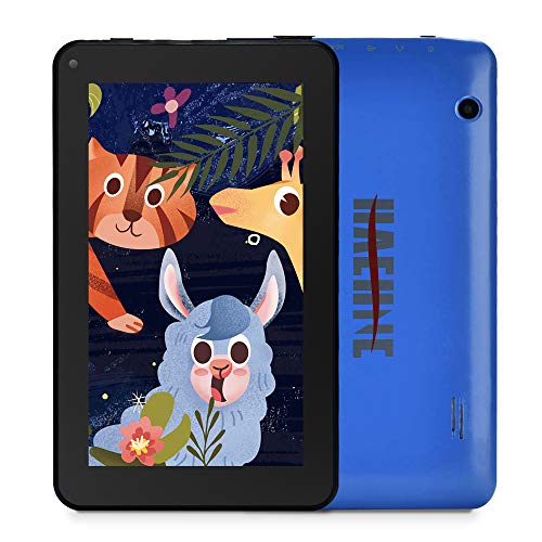 Haehne 7 Inches Tablet PC – Google Android 9.0 HD Tablet, Dual Camera, Quad Core 1GB RAM 16GB ROM, WiFi, Bluetooth, Blue