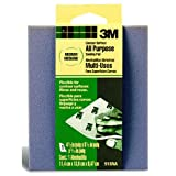 3M Contour Surface Sanding Sponge, 4.5-Inch by 5.5-Inch by .1875-Inch