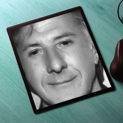 Seasons Dustin Hoffman - Original Art Mouse Mat #js001