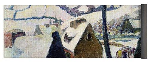 Village Under Snow - 3