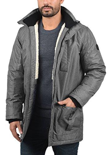 Melange 8236 Octavus Solid Parka Grey Men's XBnqwI