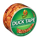 "Duck Brand 283700 Printed Duct Tape, Crispy Bacon, 1.88""x10 yd, Single Roll"