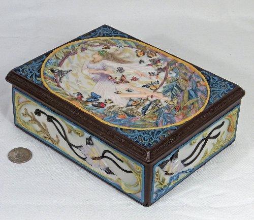 Tao of Goddess Trinket Box by Sheila (Enesco Trinket)