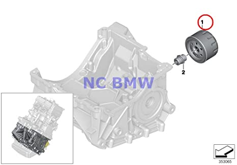 BMW Genuine Lubrication System-Oil Filter / Oil Filter Oil Filter A40 C600 Sport C650GT