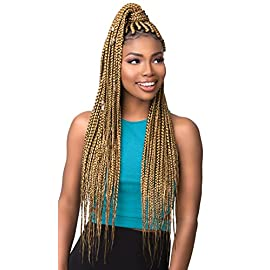 [MULTI PACKS DEAL] SENSATIONNEL AFRICAN COLLECTION KANEKALON AQUATEX PRE-LAYERED SYNTHETIC BRAID 48″ / WATER-REPELLENT – 3XRUWA (1PACK, 1)