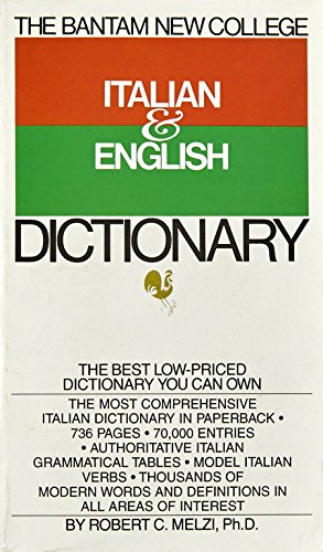 The Bantam New College Italian & English Dictionary