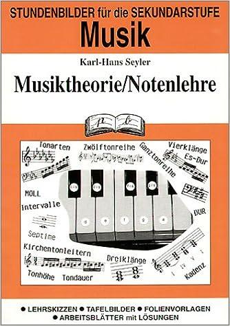 Musik (Sekundarstufe), Musiktheorie/Notenlehre: Amazon.de: Karl-Hans ...
