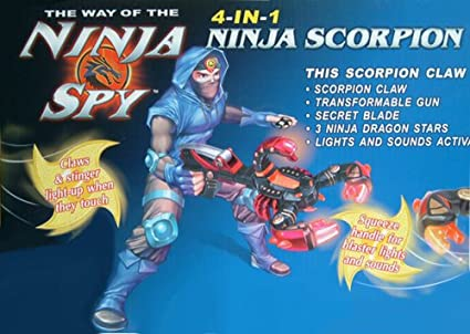 Happy Kid Garra Ninja Scorpion 4 En 1: Amazon.es: Juguetes y ...