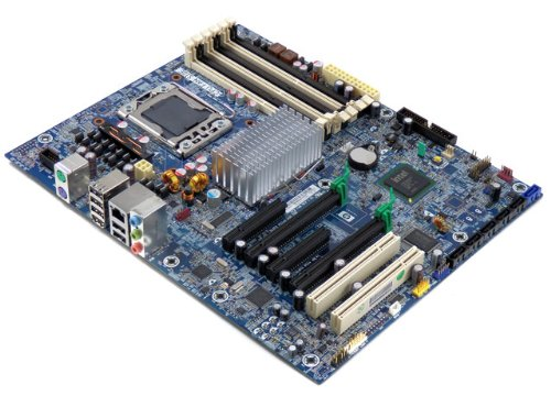 Hewlett 001 Packard Motherboard (AS-IS HP 586968-001 Motherboard Z400 Workstation Motherboard Intel X58)