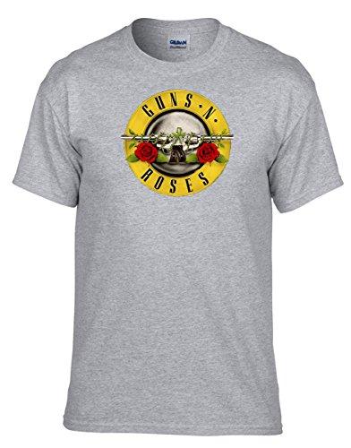 Music Shirts Guns and Roses Guns N Roses - 324-Grau