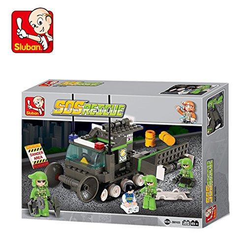 Sluban M38 B0103 SOS Rescue Team, Multi Color  159 Pieces