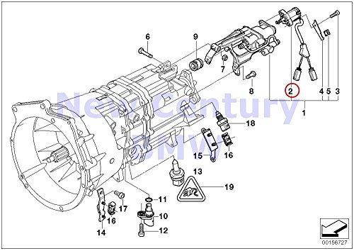 BMW Genuine Transmission Parts Smg Gear Identification Switch ()