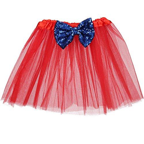 Blue 2 Satin Skirt - 5
