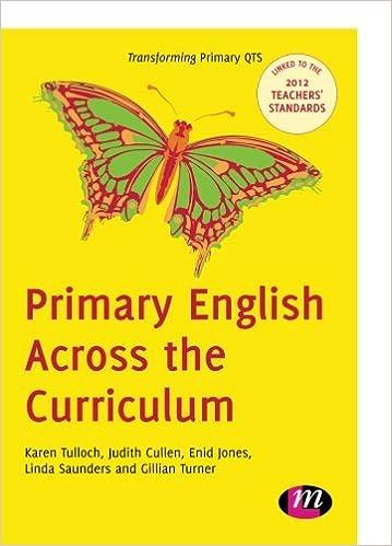 primary english across the curriculum turner gillian tulloch karen cullen judith jones enid saunders linda
