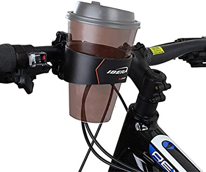 Water Bottle Cages Bike Handlebar Cup Holder Black With Multi-Way Mount