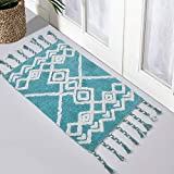 Luxurious Bathroom Mat/Rug | 100% Cotton with Tussles, Extra Absorbent & Soft Plush Rug for Living Room, Bedroom, Shower, Bat