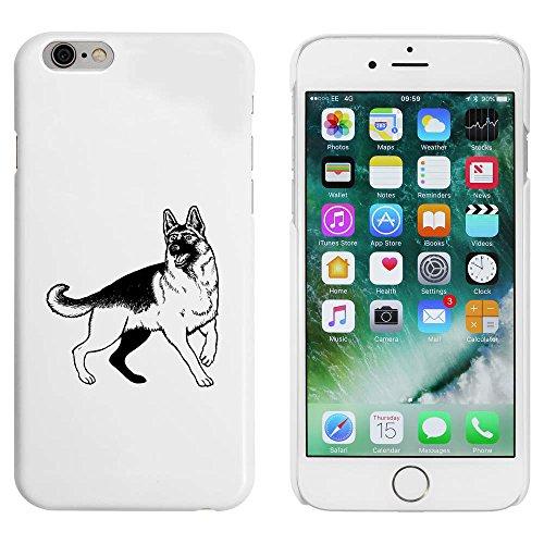 Weiß 'Schäferhund' Hülle für iPhone 6 u. 6s (MC00050198)