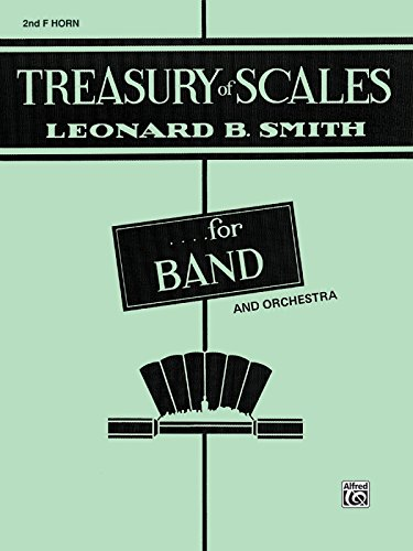 Treasury Of Scales For Band And Orchestra: 2nd F Horn