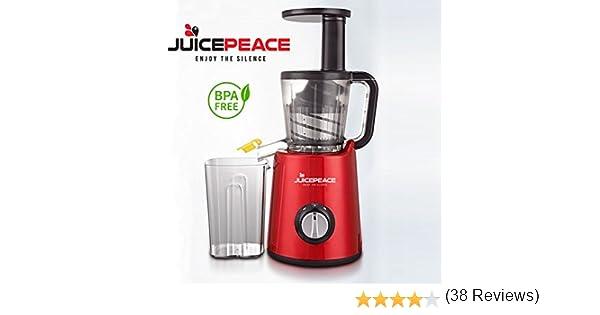 Silver Juicepresso Original-Extractor de zumo 40 revoluciones por ...