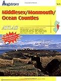 Hagstrom Middlesex/Monmouth/Ocean Counties, NJ. Atlas (Middlesex County, Monmouth County, Ocean County, Nj Atlas)