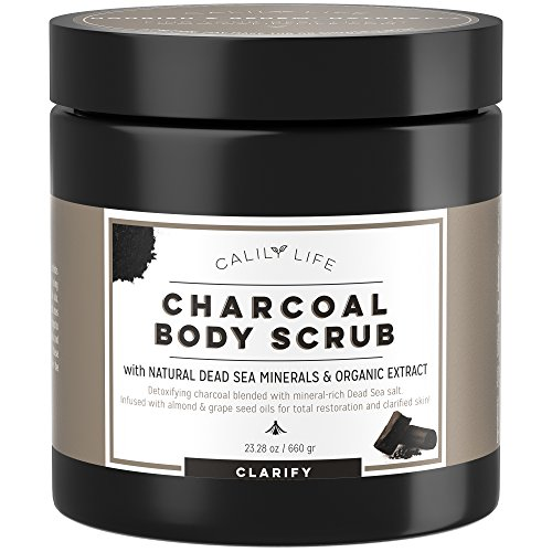 Activated Charcoal Body Scrub - 2