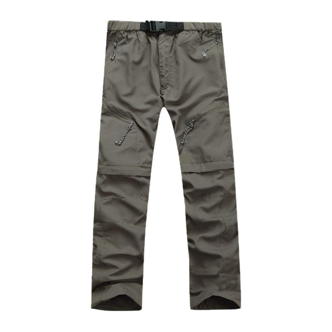 bf18f36cf05 Muramba Clearance Men Outdoor Thin Detachable Quick Dry Waterproof Pants at  Amazon Men s Clothing store