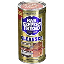 Bar Keepers Friend All-Purpose Cleaner & Polish 12 oz (Pack of 4)