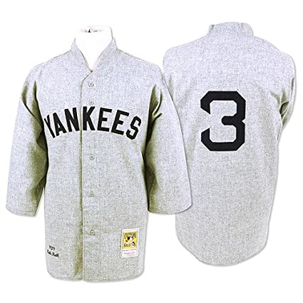 ed36209405e Amazon.com : New York Yankees Authentic 1929 Babe Ruth Road Jersey by  Mitchell & Ness : Sports Fan Jerseys : Sports & Outdoors