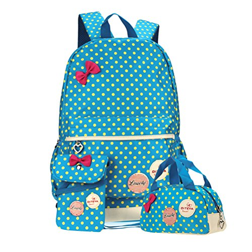 Lightweight Casual Canvas Backpack School
