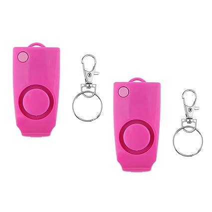 kesoto 2x Personal Alarm Keychain SOS Emergency Self Protect ...