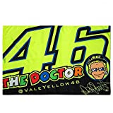 Valentino Rossi VR46 Moto GP The Doctor Flag Official 2018