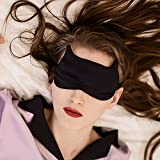 Aimell Silk Sleep Eye Mask Travel Sleeping Sexy Cat Double-sided 100% Natural Silk Shade Blindfold