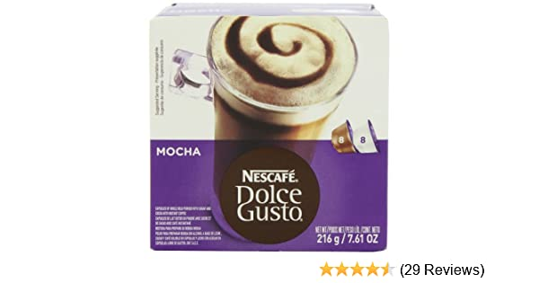 Nescafe Dolce Gusto for Nescafe Dolce Gusto Brewers, Mocha, 16 Count: Amazon.com: Grocery & Gourmet Food