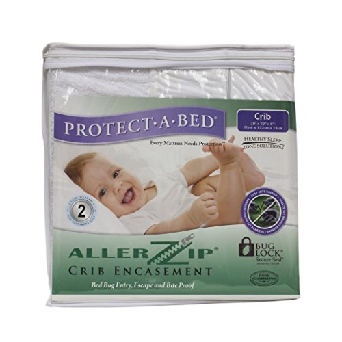 Protect-A-Bed Baby Crib Cover