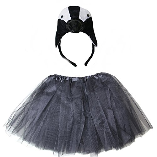 Kirei Sui Kids Costume Tutu Set Penguin]()