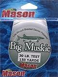 MASON Big Muskie Line 30# , Black, 150-Yard