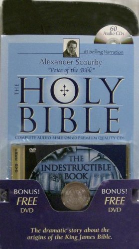 KJV Complete Scourby CD with Free Indest DVD-Holy King James Version Old and New Testament Audio Bible by Alexander Scourby Bible-KJV with Free $30 ... Virgin Mary-St. John the Baptist-Jesus Birth by Casscom Media