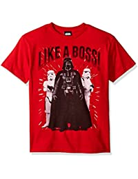 Big Boys' Darth Vader Struttin Like a Boss Graphic Tee