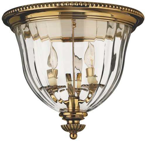 Hinkley 3612BB Traditional Three Light Flush Mount from Cambridge collection in (Hinkley Oxford Collection)