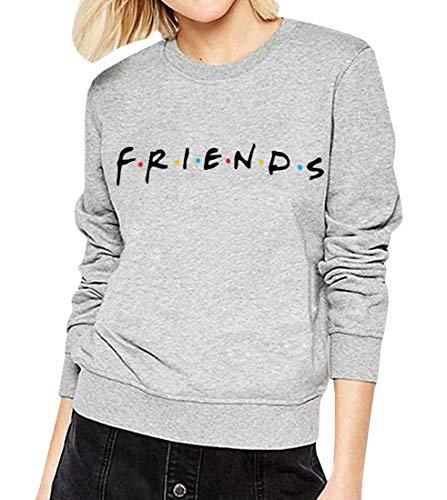 Qrupoad Teen Girls TV Show Oversized Crewneck Fleece Pullover Sweatshirt Tops