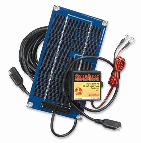 PulseTech 2-Watt Solar Battery Maintainer by Pulsetech
